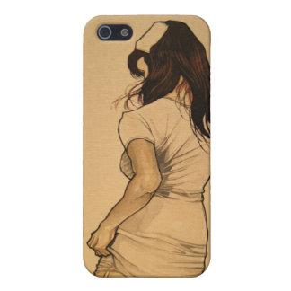 Stygg sjuksköterska iPhone 5 fodral