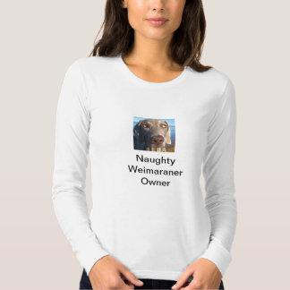 Stygg weimaraner t shirts