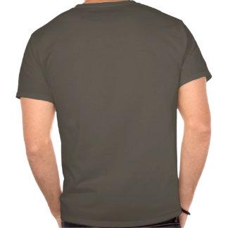 Stygga bäver rider fritt tshirts