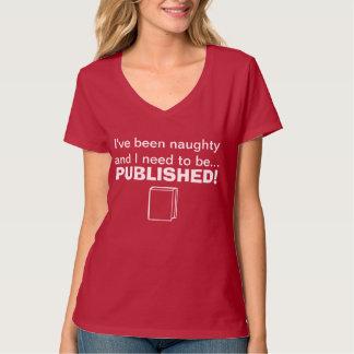 Stygga behov att publiceras tshirts
