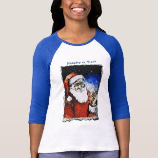 Styggt & Nice - blått- & vitT-tröja Tee