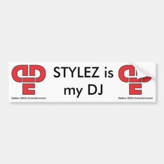 STYLEZ är min DJ-bildekal Bildekal