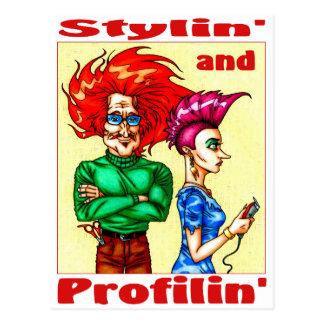 Stylin & Profilin Vykort