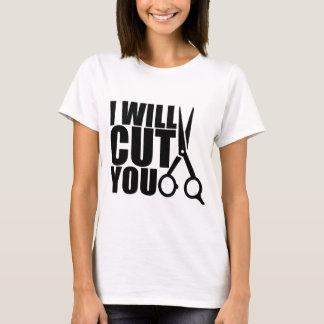 Stylist för skjorta   för frisör för tee