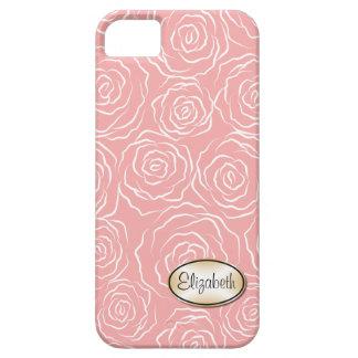 Stylized fodral för iPhone 5 för roträdgårdmönster iPhone 5 Case-Mate Skydd