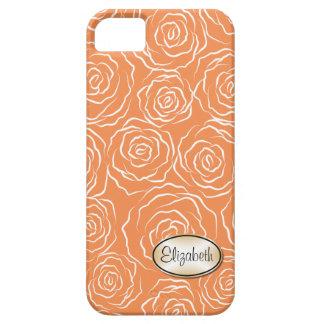 Stylized fodral för iPhone 5 för roträdgårdmönster iPhone 5 Cases