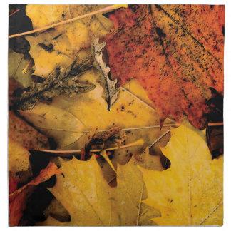 Stylized löv tygservett