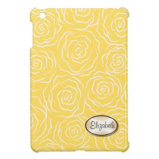Stylized mini- fodral för romönsteriPad - gult iPad Mini Skydd