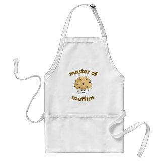 Styra av muffiner - förkläde