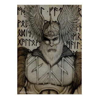 """""""Styra av runorna """", Poster"""