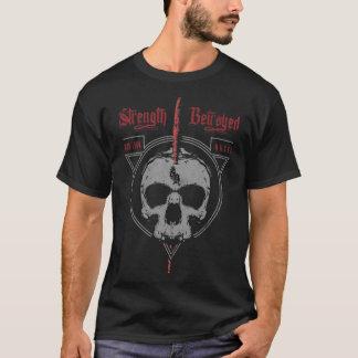 Styrka förrådd sönderriven T-tröja för krig Tee Shirt