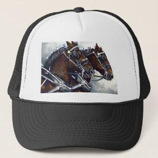 Styrka & härlighet - Percheron hästar Keps