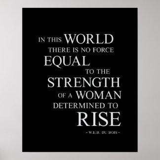 Styrka - inspirera Motivational Poster