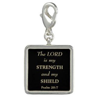 Styrka och skyddar den guld- kristen berlock