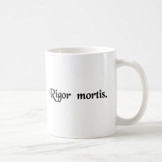 Styvheten av death.en kaffemugg