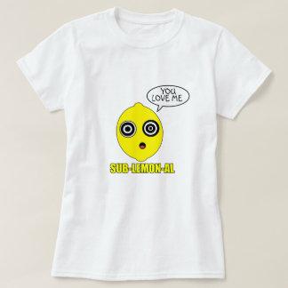 Subliminal citron tee shirts