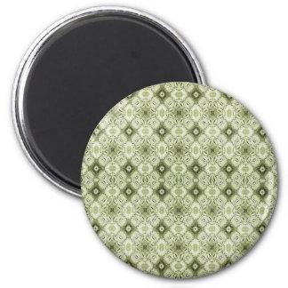 Subtil dekorativ mönstermagnet magnet