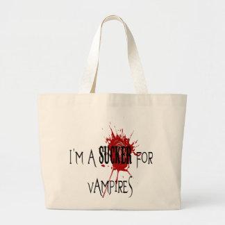 Sucker för vampyrer - jumbototo tygkasse