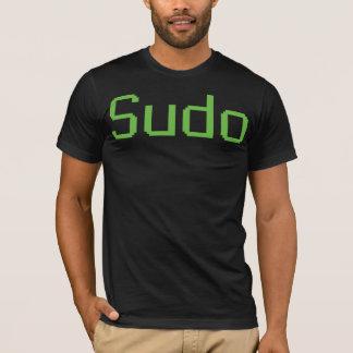 Sudo - manar T-tröja, svart T-shirts