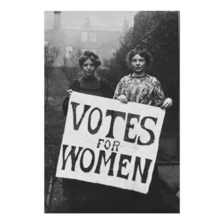 Suffragettes - Annie Kenny, Christabel Pank Poster