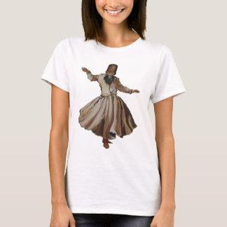 Sufi som virvlar den isolerade dervishen tee shirt