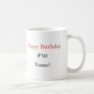 Suger för att vara mig… grattis på födelsedagen, kaffemugg