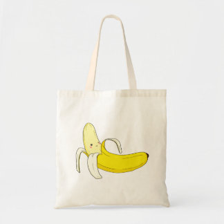 Suggestiv banantoto tygkasse
