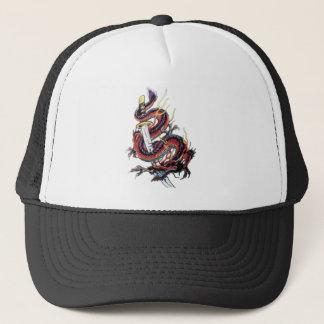 Sui Riu japansk drake Katana Keps