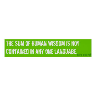 summan av människavishet poster