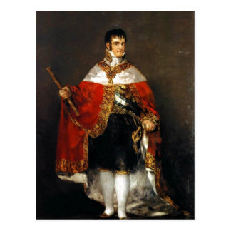 Summariska Beskrivning Retrato de Fernando VII Vykort