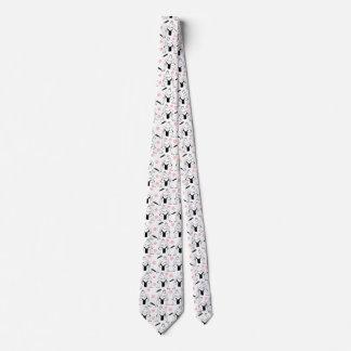 Sumos och körsbärblommarmanar tie slips