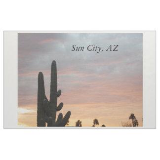 Sun City solnedgångtyg 1 Tyg