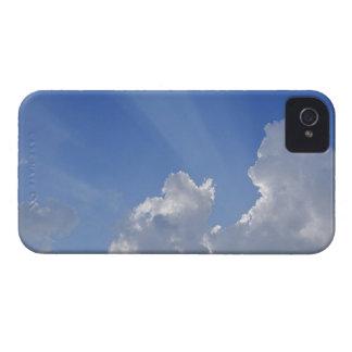 Sunbeams till och med moln, Val d'Orcia, Siena iPhone 4 Case-Mate Skydd