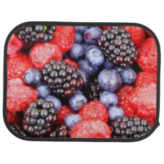 Sund bärfruktblandning bilmatta