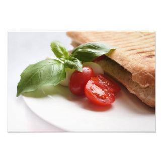 Sund italiensk mat fototryck