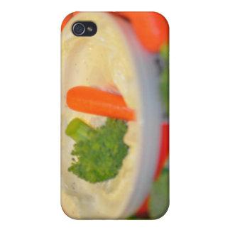 Sunda grönsaker fotograferar iPhone 4 fodral
