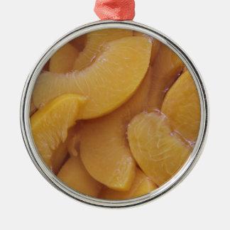 sunda persikor julgransprydnad metall