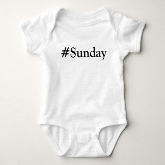 #Sunday dag av veckan T-shirt