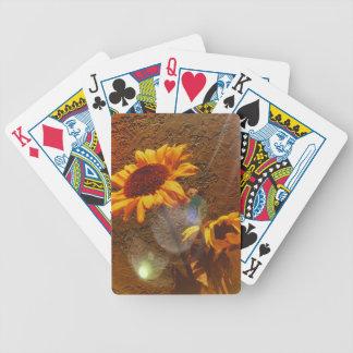 Sunstreaked solrosor spelkort