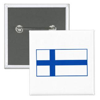 Suomen Lippu - flagga av Finland Knappar