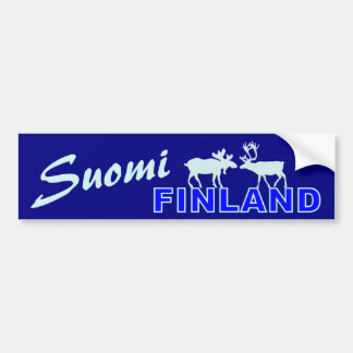 Suomi Finland bildekal