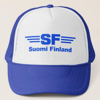 Suomi Finland hatt Keps