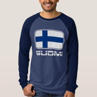 Suomi flagga tee shirt