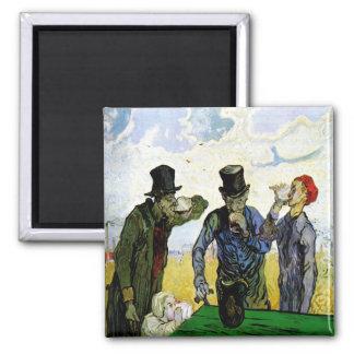 Suparna av Vincent Van Gogh 1890 Magnet