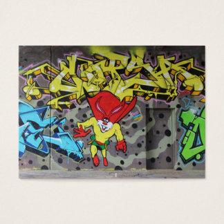 Superbunny grafitti visitkort