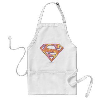 Supergirl Argyle logotyp Förkläde