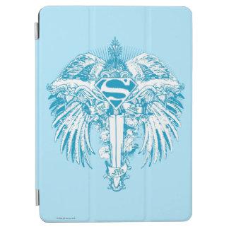 Supergirl blåttvingar iPad air skydd