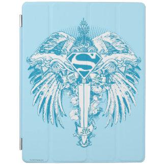 Supergirl blåttvingar iPad skydd