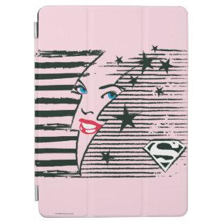 Supergirl blixt med ansikte iPad air skydd