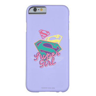 Supergirl Cursive Barely There iPhone 6 Fodral